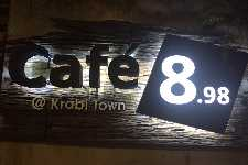 Cafe 8.98 at Krabi Town