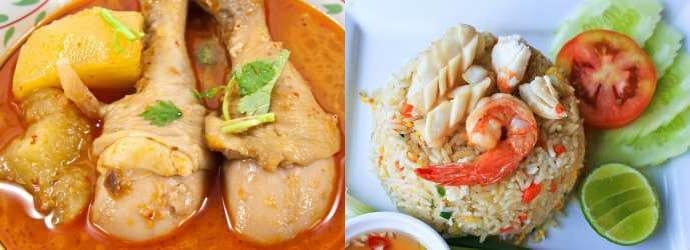 Рестораны и бары в Као-Лак