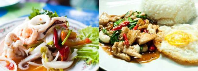 Рестораны и бары в Острова Пхи Пхи