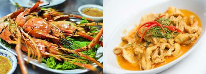 Рестораны и бары в Банг Лют